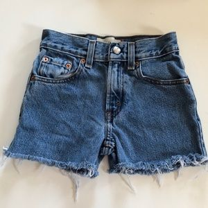 Vintage Kid's Levi's Cutoffs Shorts